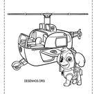 desenhos para colorir patrulha canina 153
