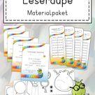 Materialpaket Leseraupe