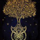 Bedeutung keltischer Lebensbaum - Baum des Lebens - Yggdrasil