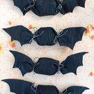Crepe Paper Bat Favors DIY