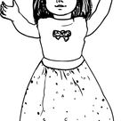 American Girl Coloring Pages - Best Coloring Pages For Kids