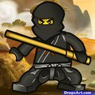 How To Draw Cole, Ninjago, Step by Step, Drawing Guide, by Dawn