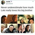 Thor & Loki - or how often he iswilling to betray him