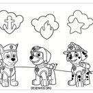 desenhos para colorir patrulha canina 189