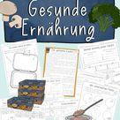 Unterrichtsreihe Gesunde Ernährung - Arbeitsblätter, Texte - Sachunterricht Grundschule