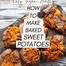 Sweet Potato Jacket Recipe (Healthy, Vegan & Delicious)