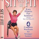 Sit And Be Fit Stretch And Strengthen Award Winning Senior Fitness Chair Exercise Workout Stretching, Strength Training, and Balance. Improve flexibility, muscle and bone strength, circulation, heart health, and stability, Developed By Mary Ann Wilson, RN