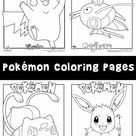 Pokemon Coloring Pages | Woo! Jr. Kids Activities