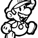 How to Draw Classic Mario Bros or Paper Mario with Easy Step by Step Drawing Lesson - How to Draw Step by Step Drawing Tutorials