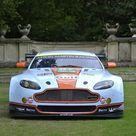 Box Canvas Print. Aston Martin V8 Vantage GTE Le Mans racecar
