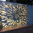 Metal Wall Art, Garden Screen, Garden Decoration // Benbecula