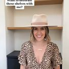 How to style shelves like a designer!
