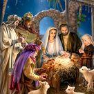 The Nativity Canvas Wall Art