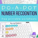 1-20 Number recognition printables