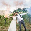 Eine Boho Hochzeit im Grünen mit Family Style Dinner | Hochzeitsblog The Little Wedding Corner