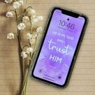 IPhone XR screensaver He Is My God Christian Religious   Etsy