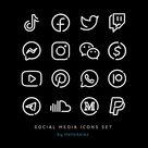 50 Essential Social Media & UI Icons