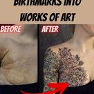 40+ People Who Turned Scars and Birthmarks Into Works of Art