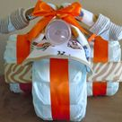 Tricycle Diaper Cakes