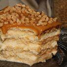 Butterkeks Caramel Kuchen