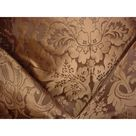 Kravet Couture 24354 Limoges Silk Damask Java Floral Upholstery Fabric- 2-1/4 yards