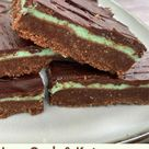 Chocolate Mint Shortbread Bars   Low Carb Simplified