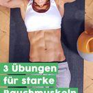 Simple Übungen & Tricks für starke Bauchmuskeln