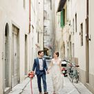 An Italian Wedding That's Not Afraid of Color