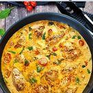 Hähnchenfilet in cremiger Frischkäse-Parmesan-Soße   Lydiasfoodblog