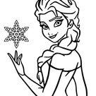 Frozen: Elsa und Anna Ausmalbilder - Ausmalbilder Für Kinder Lernen