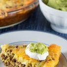 Crustless Low Carb Taco Pie from Everyday Ketogenic Kitchen