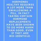 Hormone Imbalance. Testing and What to do if your hormones are not healthy.