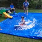 Water slide made by Rob in the hot summer of 2013