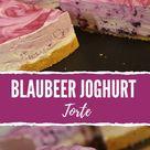 Blaubeer Joghurt Torte