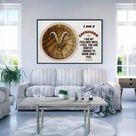 I am an Capricorn Zodiac sign  | Capricorn Horoscope | Printable Art | Instant download