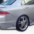 Extreme Dimensions Rear Bumper Acura TSX 2004 2008 Duraflex Raven Style