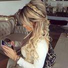 65+ Elegant Half Up Half Down Hairstyles for Girls   HairStyles