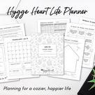 Planner  2019 Planner  Hygge Heart Life Planner  Life | Etsy