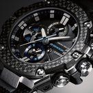 G-Shock GSTB100XA G-Steel Carbon Fiber Bezel Black Blue