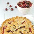 Easy Fresh Cherry Pie Recipe - homemade or store-bought pie crust