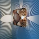 No.39 Ovals wall lamp wall light   lasercutted wood   minimal design Dutch design made in Holland