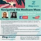 Navigating the Medicare Maze and Selecting the Right Plan a FREE Facebook Live Event with Dr. Terry Mason & Saadia Selvie on Wednesday, October 14, 2020 at 1000am CDT