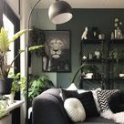 Weelderig groen in de sfeervolle woonkamer van Bojoura