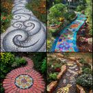 Mosaic Garden Path Ideas   The garden!