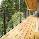 Holzterrassen-Elemente aus Garapa - vormontierte Terrassenfliesen