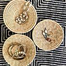 Natural Woven Baskets Small