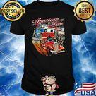American Pride Trucker Firefighter Shirt, hoodie, sweater, long sleeve and tank top
