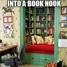 Closet Reading Nooks