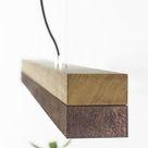 GANTlights C1o Pendelleuchte LED Holz hell, 1-flammig