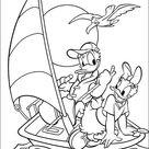 Donald Duck Kleurplaten Printen 10